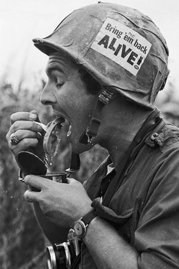 Why Did American Soldiers Get Away With Helmet Graffiti During The Vietnam War Quora