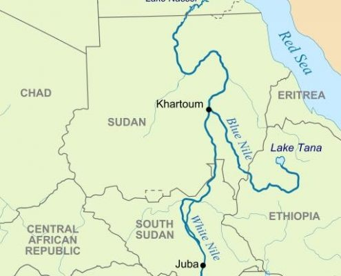 Blue Nile River In Africa Map.What Is The Source Of The River Nile Quora
