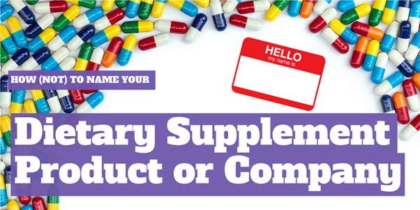 What's a great name for a new supplement company? - Quora