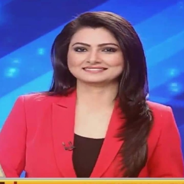 Who is the hottest female news anchor in Indian Media like
