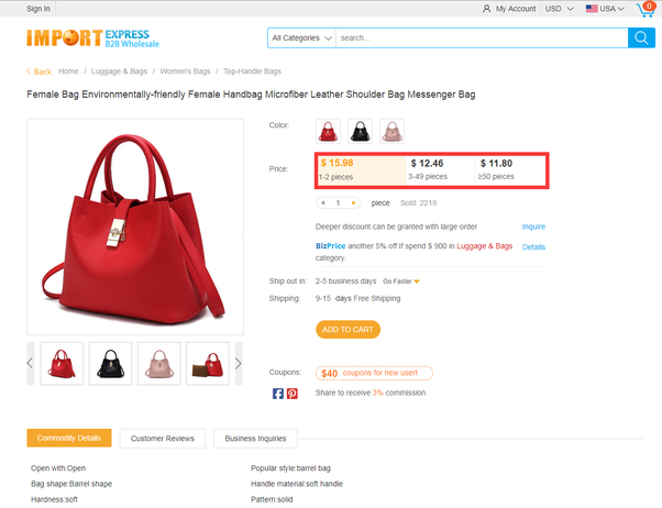 ec4df6ddc6dc Where can I wholesale the handbags for small order in China  - Quora