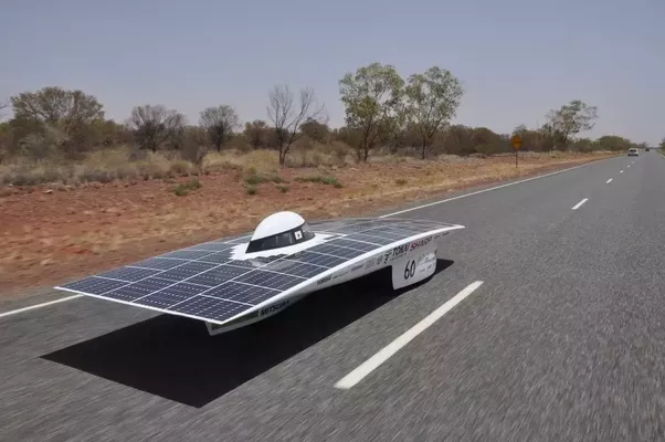 Solar Powered Electric Car Races