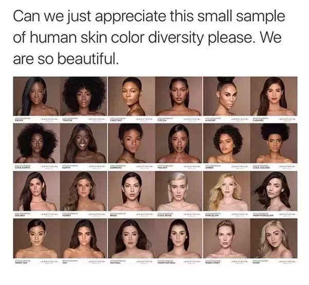 Image result for diversity of skin color