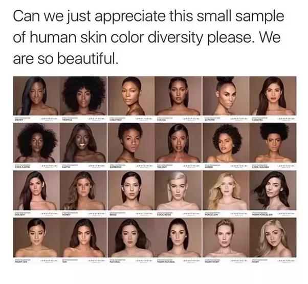 Image result for diversity of skin color