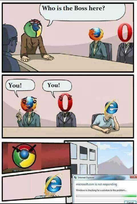What are some funny Internet Explorer memes? - Quora