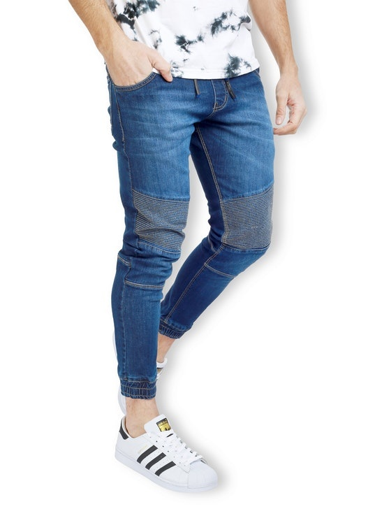 d831936e0 Black Denim Jogger pant for men are to a great degree agreeable and  flexible