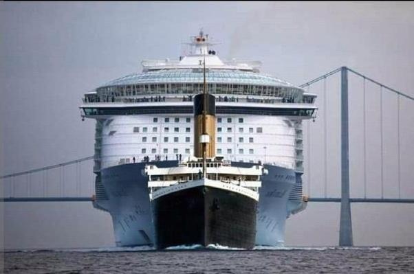 Hay Cruceros Modernos Más Grandes Que El Titanic Quora