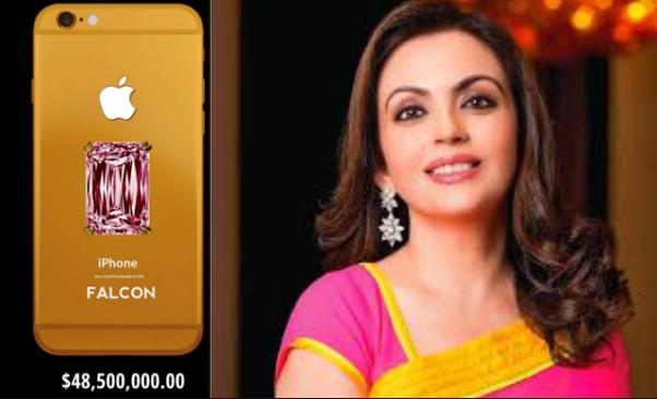 Image result for Nita Ambani mobile'