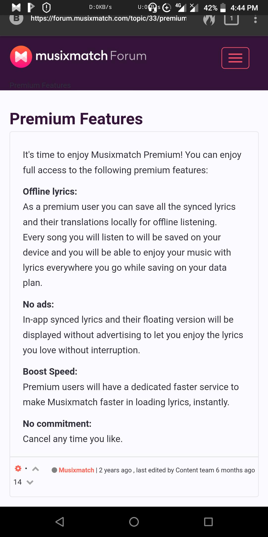 Is Musixmatch free? - Quora