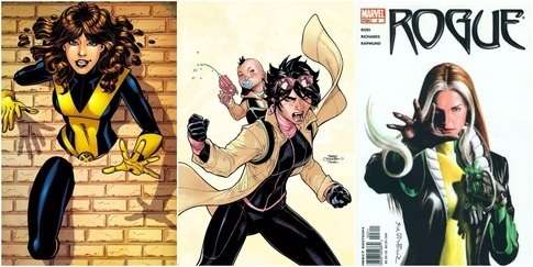 Female comic book characters sexualized