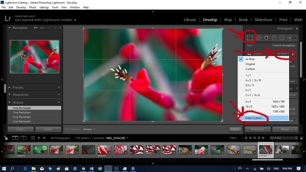 How to make a photo size 4x6 - Quora