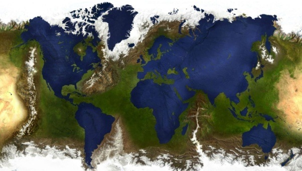 What would a reverse height map earth be like quora artwork by sanna dullaway gumiabroncs Image collections
