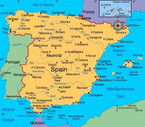 Would the portuguese and spanish like it if both of their countries as you can see spain covers a bit more than an 80 of it while portugal gets a little bit less than the remaining 20 now bear in mind spain has gumiabroncs Gallery