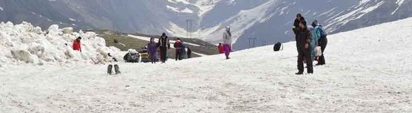 Rohtang P The Most Por Tourist Spot In Kullu Mi