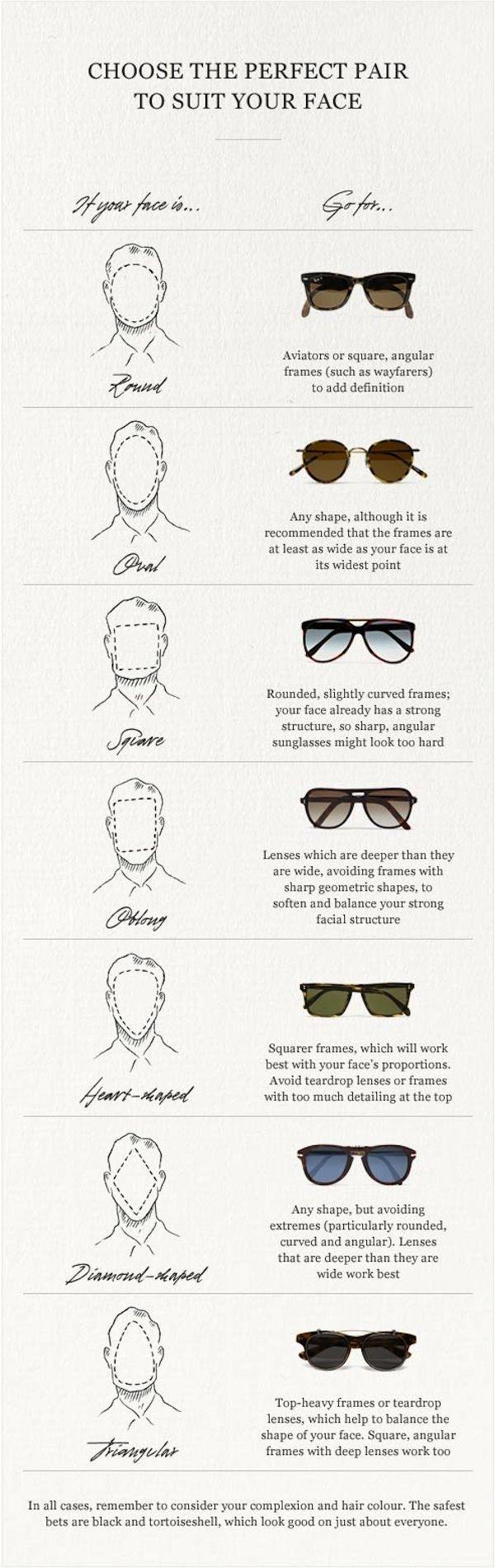 Which type of spectacles suits on round shaped face? - Quora