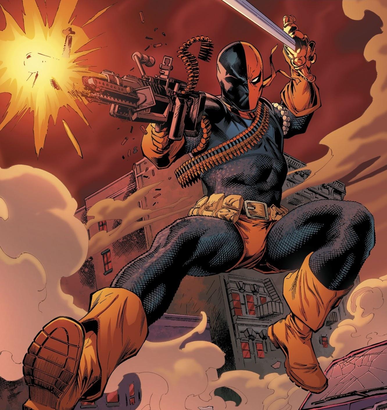 Who would win, Carter Slade (Marvel) vs Slade Wilson (DC