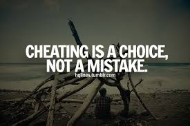 What is the difference between a mistake and cheating? - Quora