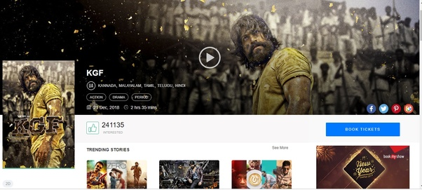 Do you think that KGF (a Kannada movie) can beat Zero? - Quora