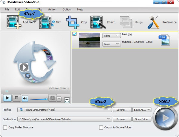 how to convert mov to jpg for free