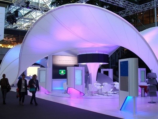 Fabric Exhibition Stand Years : What is the best lightweight material for booth stand to