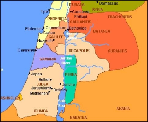 Where is Jesus' Galilee located today? - Quora