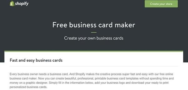 Designing Visiting Cards
