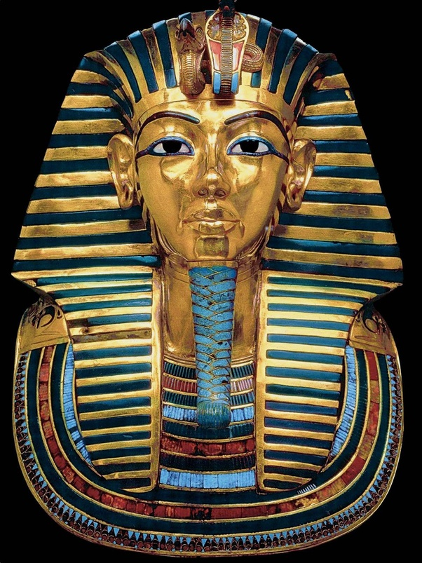 Image result for egyptian tutankhamun death mask