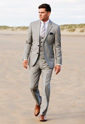 Though A Light Shade Of Grey Suit Will Go Properly With Brown Shoes I Have Attached Images To Help You Chose The According Your Choice And