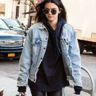 6f01656ec22 And who s going to say no to a look that s fierce and comfortable  It s no  wonder hoodies have made a comeback. 2 DENIM JACKET ...
