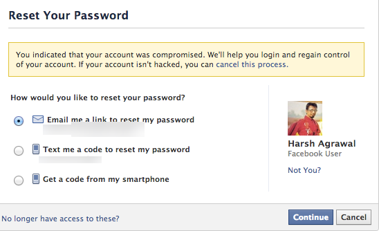 How to retrieve my Facebook account that has been hacked by