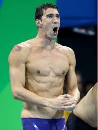 why do swimmers have abs
