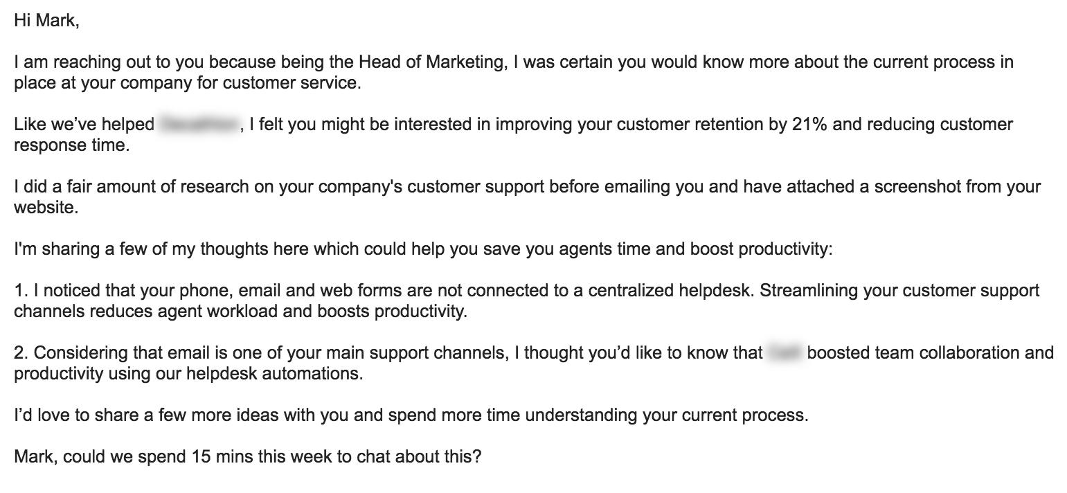 What Would Be The Best Cold Email Template For An Saas Product Quora