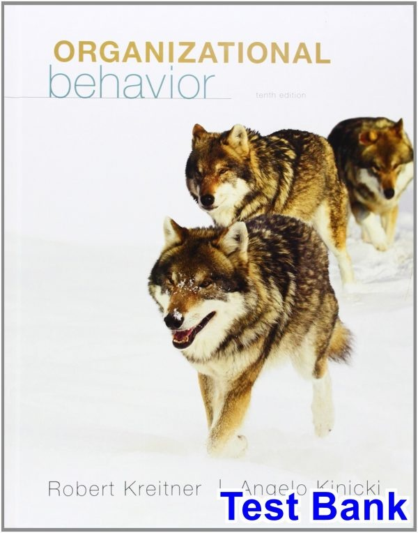where can i find a test bank for organizational behavior 10th