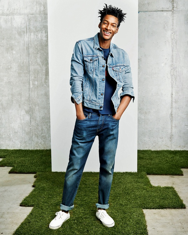 83cc9039c7 Cool Funky Look - Go for a lighter shade of denim shirt to bring  coolness    funkiness  in your personality. Wear this shade with a white T-shirt and  ...