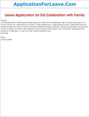 Whats the sample email format for requesting leave for our festival ayesha khan altavistaventures Images