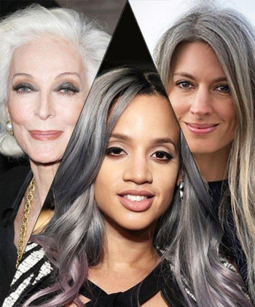 How to dye my hair grey to get the \'salt and pepper\' look - Quora