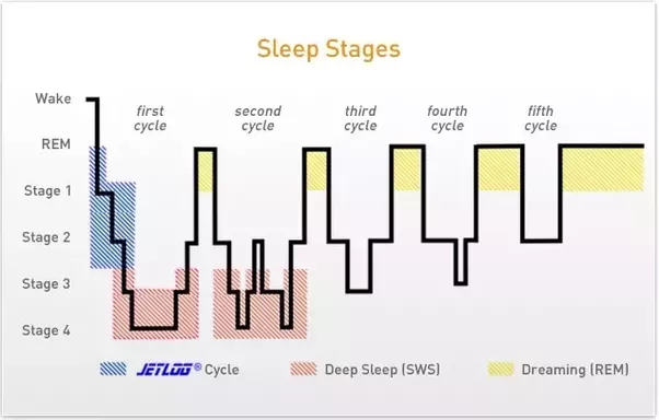 Stage Up if one cycle is roughly 1 5 hour but i woke up after