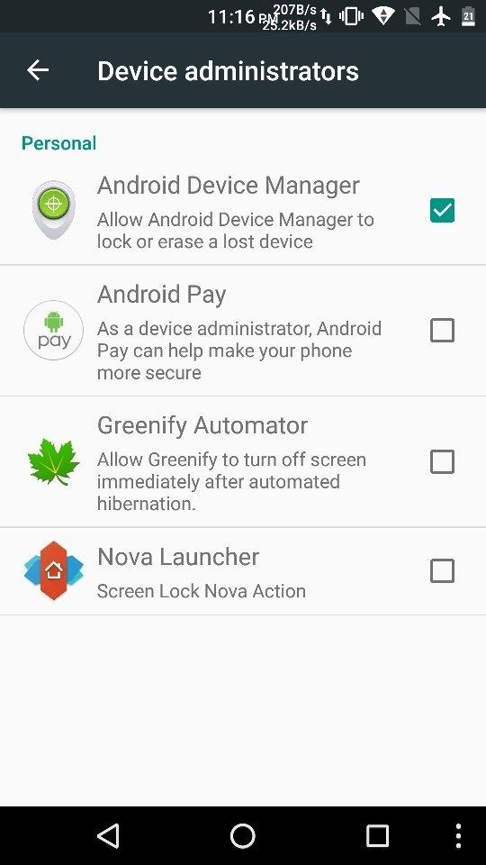 App to find hidden apps
