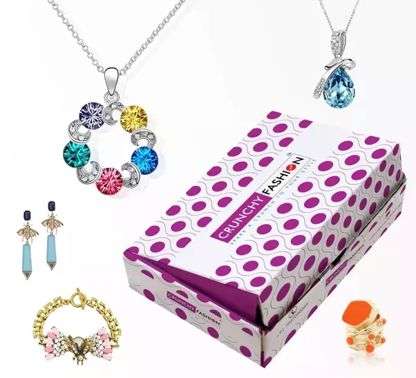 A Surprise Box Of Beautiful Jewellery For Fashion Forward People Which Will Make Your Style Irresistible It Consist The 3 To 5 Hottest And Latest