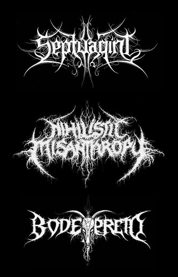 Why are Black/Death Metal logos generally unreadable? - Quora