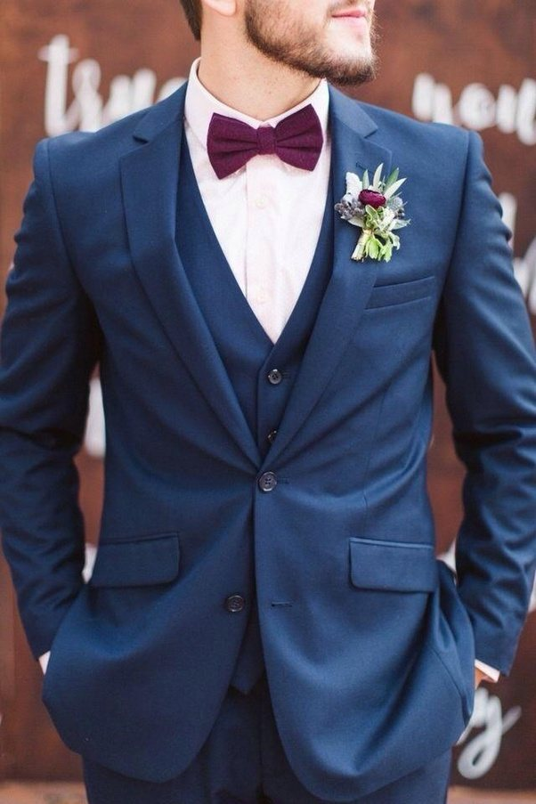 What Will Be Best Colour Combination For A Grooms Suit When The