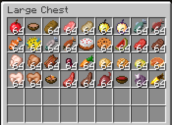 how to make food on minecraft pocket edition