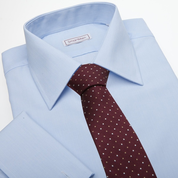 what tie to wear with a blue checkered shirt