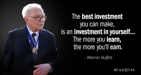 What is gained by investing in yourself? - Quora