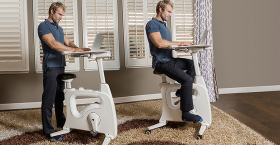 Actually Desk Bike Is Not A Brand New Concept. Many Companies Like  FlexiSpot (disclaimer: Iu0027m Part Of The Team) Offers Cycle Desks And Under  Desk Bikes.