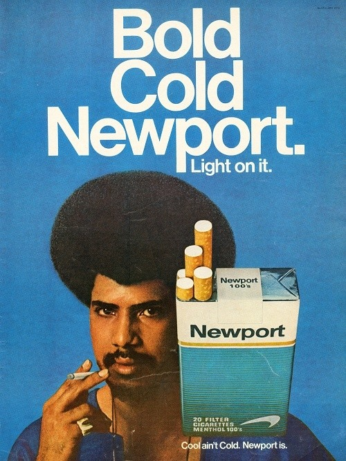 Through The 80s And 90s Cigarette Ads Geared Towards African Americans Were More About Social Mobility Now They For Upscale Black Folks While Still