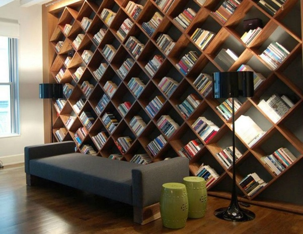 As reading is more often than not a private solo moment keep your reading space as comfortable and inviting as possible. Though every library starts off ... & How to decorate your personal library - Quora