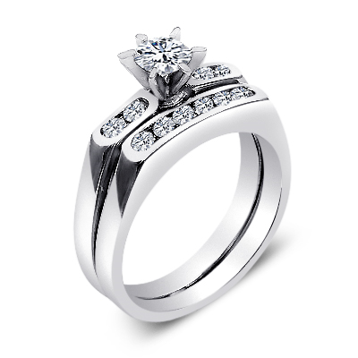 and product rings wedding diamond her couple king his sterling lovers band promise jewelry silver