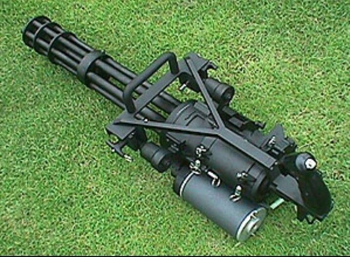 What Is The Difference Between A Minigun And A Chaingun Quora