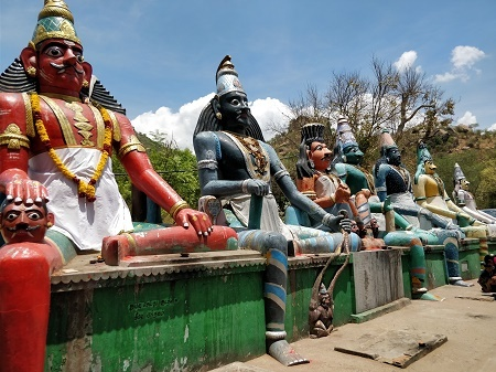 Are there any remnants of pre-Hindu Dravidian religion left